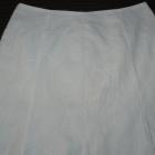 Biała spódnica z podszewka 42