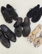 zestaw butów 5 par botki trampki szpilki Karen Puma CCC Sketche...