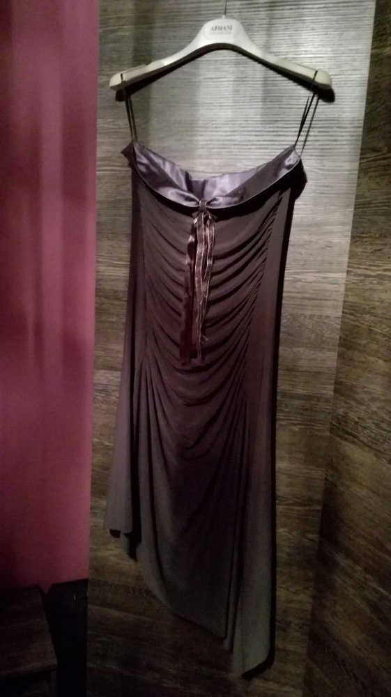 Grafitowa sukienka...