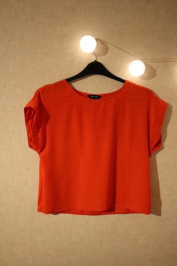 Czerwona elegancka bluzka rozmiar M NEW LOOK...