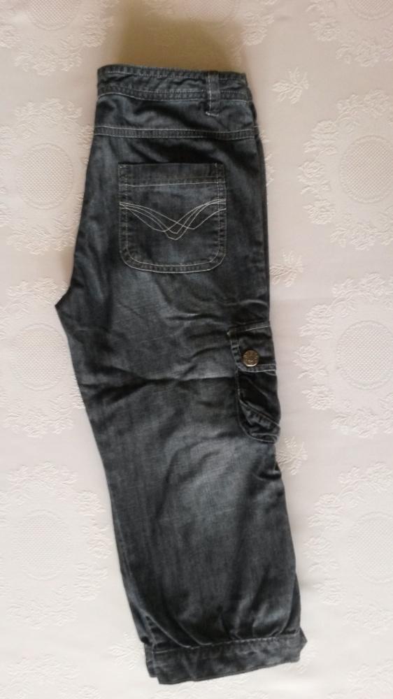 Spodenki Jeansowe rybaczki XS 158