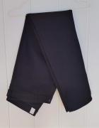 Czarne spodnie jeansy H&M skinny rurki 46 XXXL 3XL dżinsy prost...