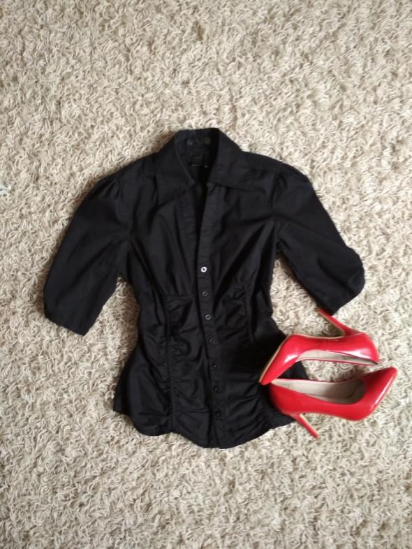 czarna elegancka koszula s m