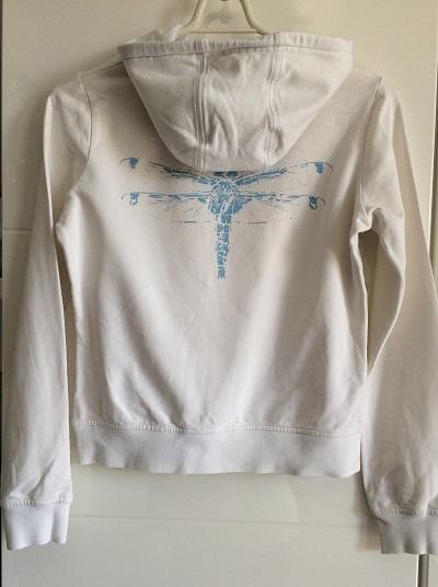 Biała Bluza Cropp S 36 XS 34