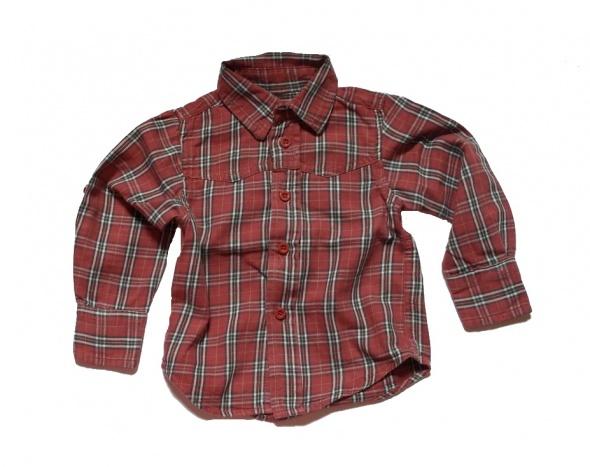 Koszula modna w kratke 68