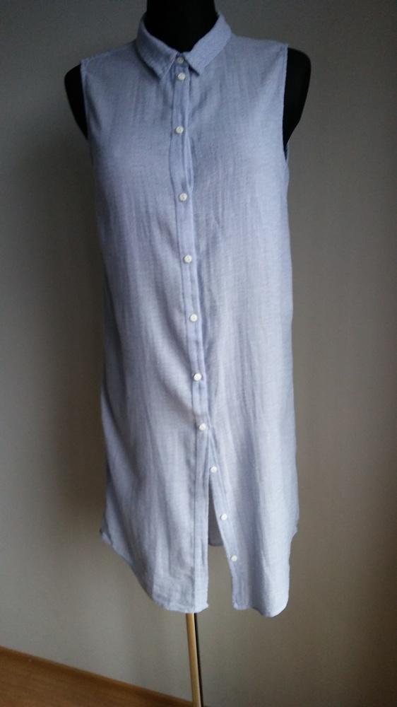Koszula długa bez rękawów...