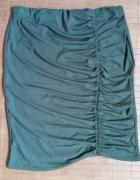 Spódnica zielona marszczona...