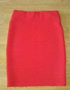 Spódnica czerwona...