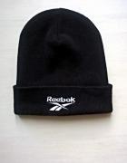 Czarna zimowa czapka Reebok...