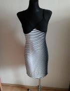 Sukienka w Zebrę...
