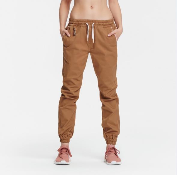 Spodnie PLNY LALA 366 Days Light Brown Joggers