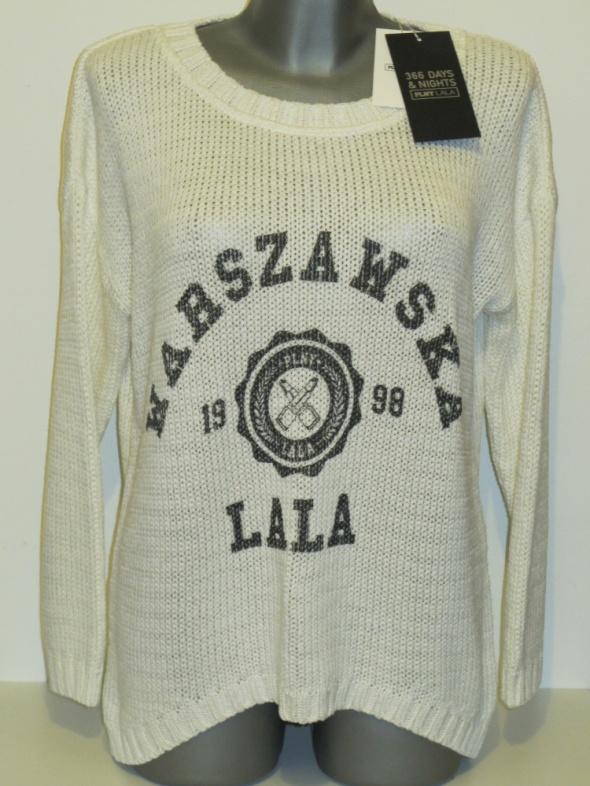 Swetry PLNY LALA sweter Warszawska Lala Tunic Sweater