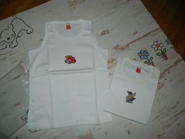 ROAD bluzka koszulka 2 sztuki roz 7 8 lat