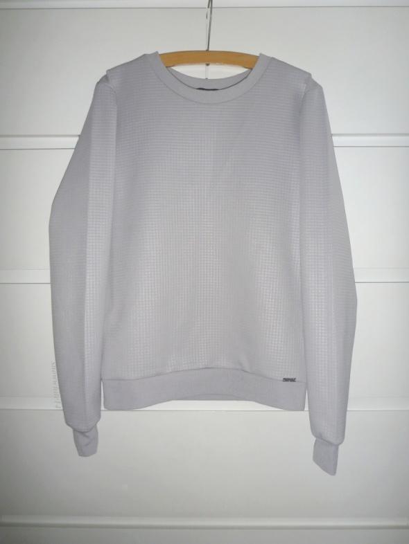 oryginalna bluza mohito stalowa ciekawy materiał