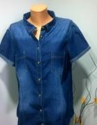 koszula jeansowa 46 48