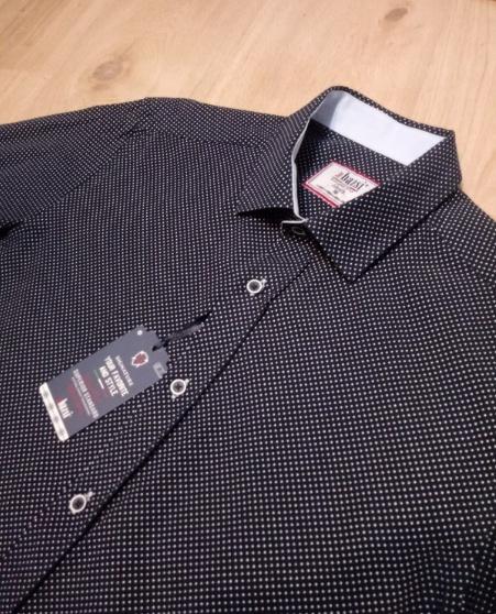 NOWA koszula w drobne kropeczki M
