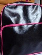 Plecak czarno różowy