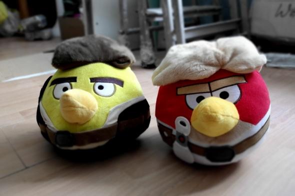 Zabawki Nowe maskotki Angry Birds Star Wars