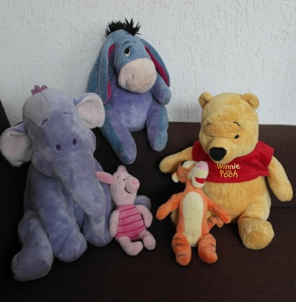 Zabawki Maskotki postacie z Kubusia Puchatka