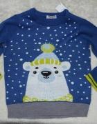 Zimowy sweterek 128