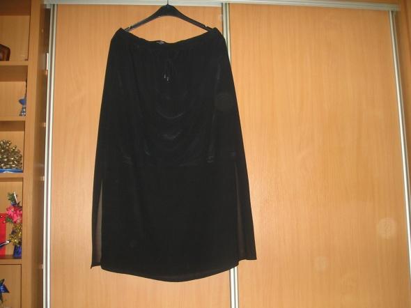 nowa czarna spódnica maxi 46 48 Cellebes