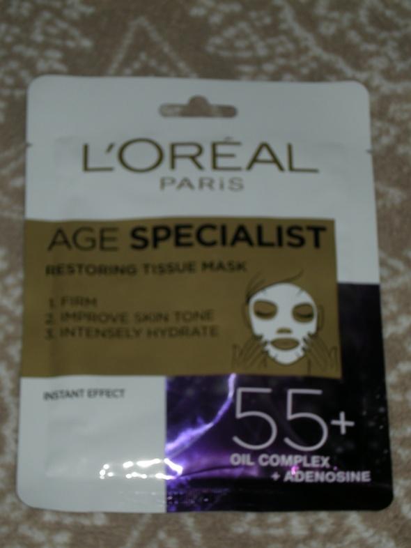 Loreal Age Specialist Maska na tkaninie odbudowujaca 55