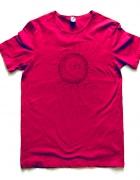 Bordowa koszulka Ethnic sun rozmiar L 1...