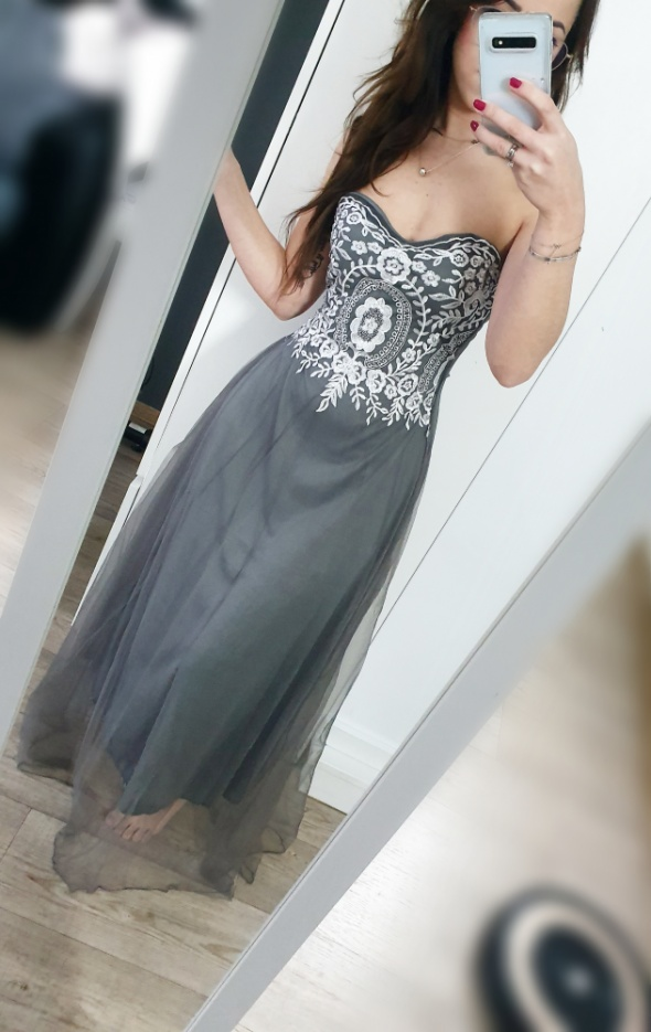 Sukienka maxi XS