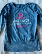 oryginalna vintage bluzeczka ciepła
