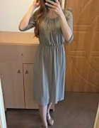 Elegancka sukienka midi M L