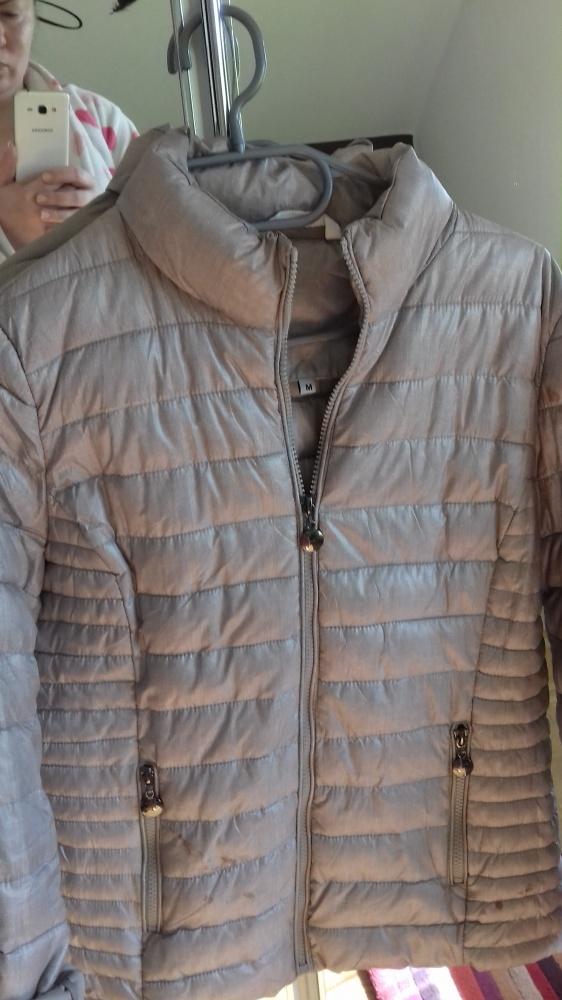 Nowa kurtka złoty beż M