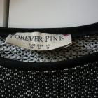 Bluza szara melanż 38 M Forever Pink