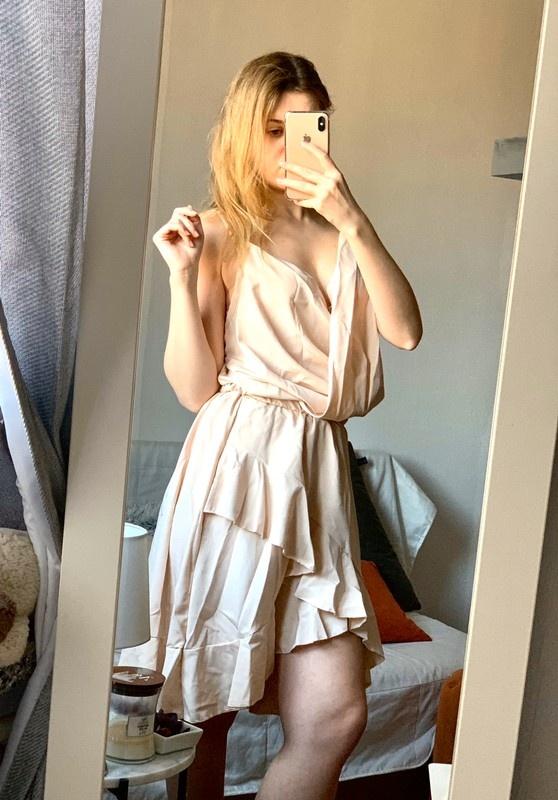 Kopertowa sukienka Pakuten M L nowa...