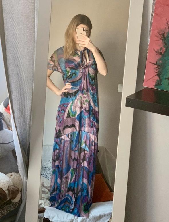 Zjawiskowa sukienka maxi ZARA nowa...