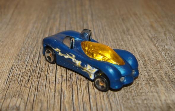Zabawki Autka samochody resoraki Hot Wheels zestaw niebieski czerwony