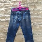 Nowe jeansy rurki cieniowane Cropp Chillin