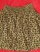 spódniczka spódnica w panterke H&M...