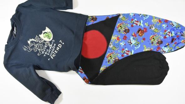 Komplet chłopięcy bluza spodnie R 12