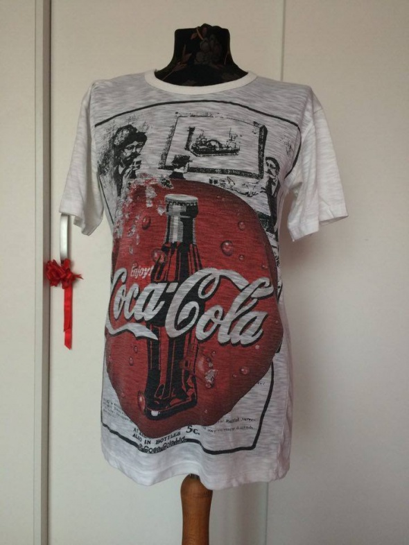 Coca cola vintage glam pop retro koszulka t shirt