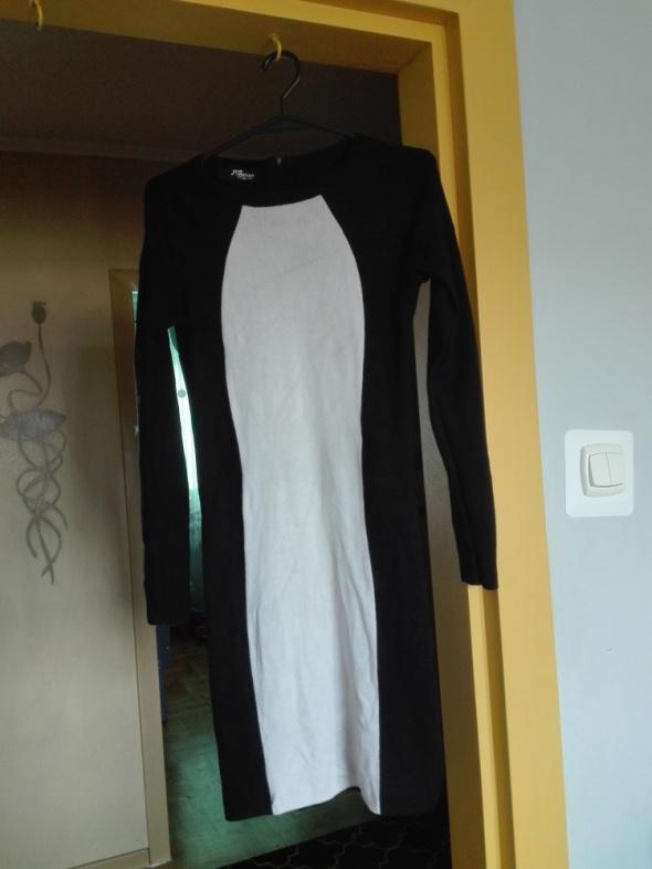 Czarno biała sukienka Jane Norman