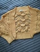 Bolerko sweterek...
