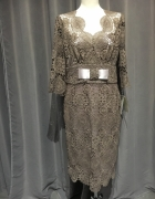 Sukienka nowa r42 kawowa...