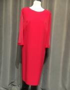 Sukienka nowa r52 fuksja różowa