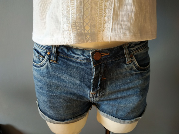 Spodenki Zara krótkie spodenki jeans XS