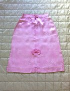 różowy słodziak z kokardką