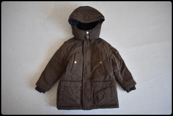H&M kurtka zimowa dla dziecka 2 i 3 lata rozmiar 98 ciepła