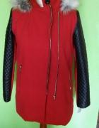 Super płaszcz czerwony L...