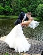 Suknia ślubna rozmiar 38 i GRATISY