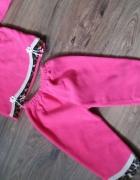 Nowy różowy dres z panterką 110...