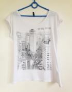 Koszulka Nowy York New York używana S M L 36 38 40 6 8 10 nadru...